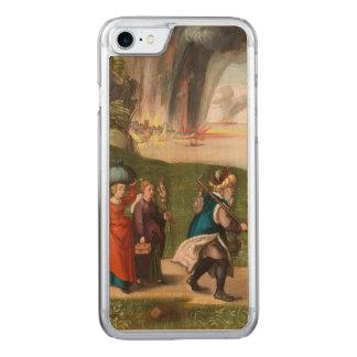 Coque En Bois iPhone 7 Sort et ses filles par Albrecht Durer