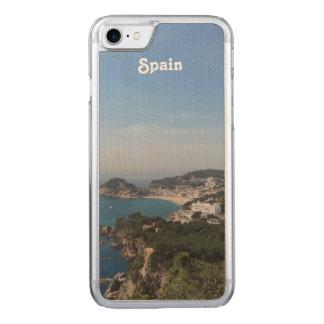 Coque En Bois iPhone 7 Vues de côte espagnole