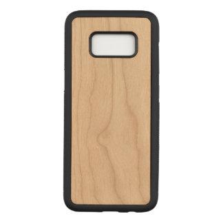 Coque En Bois Samsung Galaxy S8 Caisse mince découpée pour la galaxie S8 de