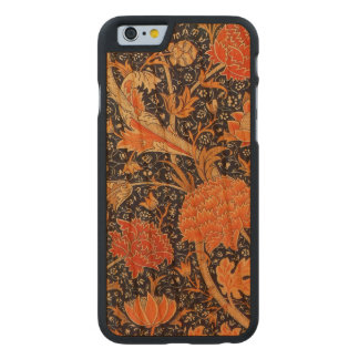Coque En Cerisier iPhone 6 Case Motif floral de Nouveau d'art de William Morris