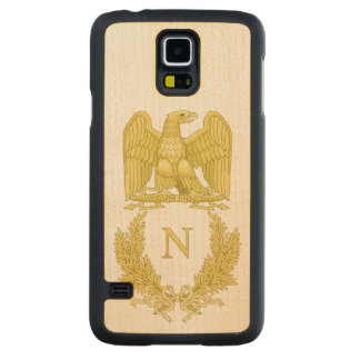 Coque En Érable Galaxy S5 Case Emblème de Napoleon Bonaparte