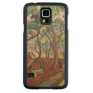 Coque En Érable Galaxy S5 Case Vincent van Gogh | le jardin de l'hôpital de St