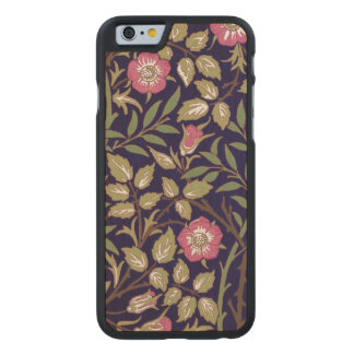 Coque En Érable iPhone 6 Case Art floral Nouveau de Briar doux de William Morris