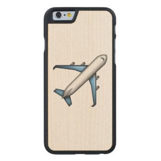 Coque En Érable iPhone 6 Case Avion - Emoji
