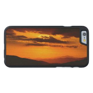 Coque En Érable iPhone 6 Case Belle photo de coucher du soleil