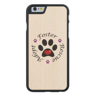 Coque En Érable iPhone 6 Case Délivrance animale