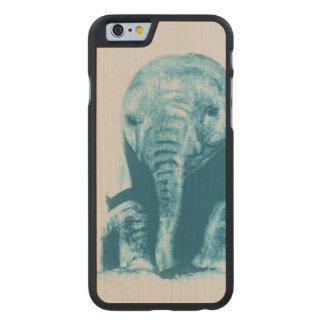 Coque En Érable iPhone 6 Case Éléphant de bébé