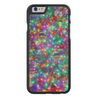 Coque En Érable iPhone 6 Case Noël de luxe