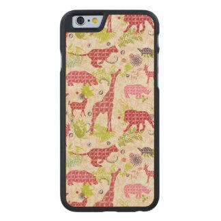 Coque En Érable iPhone 6 Case Paradis de jungle