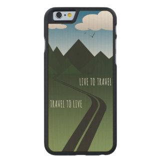 Coque En Érable iPhone 6 Case Route de montagne