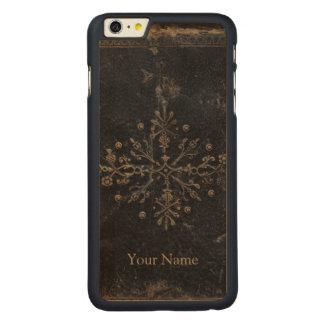 Coque En Érable iPhone 6 Plus L'antiquité s'est fanée cas en bois plus de