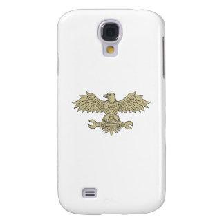 Coque Galaxy S4 Américain Eagle saisissant le dessin de clé