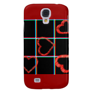 Coque Galaxy S4 Amour et coeurs