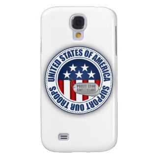 Coque Galaxy S4 Amoureuse fière de garde nationale d'armée