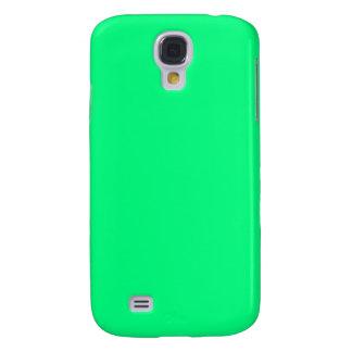 Coque Galaxy S4 Arrière - plan vert de ressort