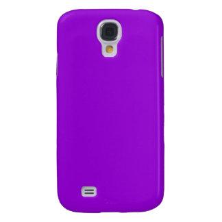 Coque Galaxy S4 Arrière - plan violet foncé de couleur