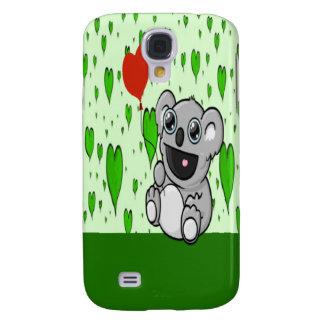 Coque Galaxy S4 Ballon de coeur de koala