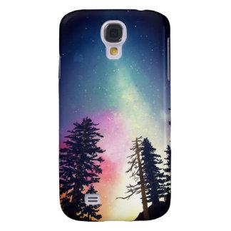 Coque Galaxy S4 Beau ciel nocturne brillant jusqu'aux cieux
