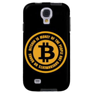 Coque Galaxy S4 Bitcoin est argent des gouvernements de personnes