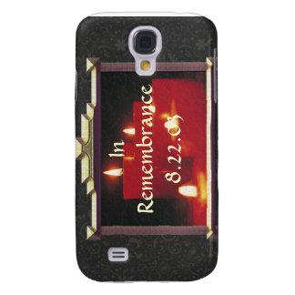 Coque Galaxy S4 Bougies et vignes de souvenir