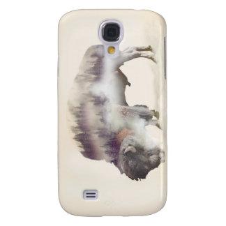 Coque Galaxy S4 Buffle-double buffle-paysage exposition-américain