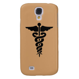 Coque Galaxy S4 Caducée médical de symbole