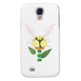 Coque Galaxy S4 Caisse de la galaxie S4 de Samsung de fleur de
