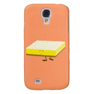 Coque Galaxy S4 Caractère de sourire de barre de citron