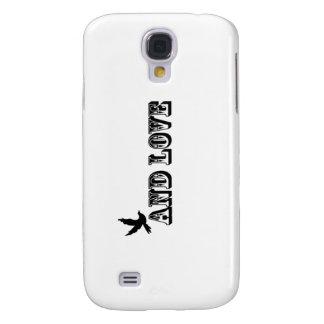 Coque Galaxy S4 Cas de l'iphone 3G de colombe de paix