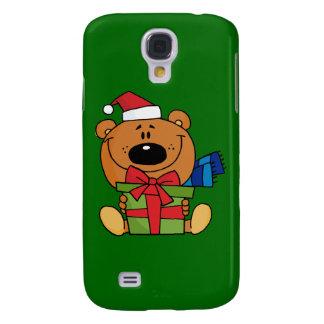 Coque Galaxy S4 Cas de l'iPhone 3G d'ours de nounours de Noël