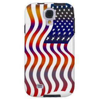 Coque Galaxy S4 Cas de téléphone de drapeau américain