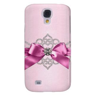 Coque Galaxy S4 Cas Girly de parties scintillantes de jewell
