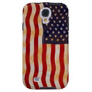 Coque Galaxy S4 Cas vintage de téléphone du drapeau américain 13