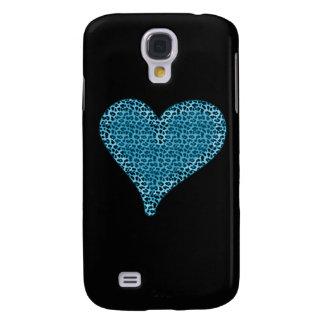 Coque Galaxy S4 Coeur mignon avec du charme adorable de poster de