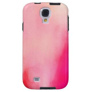 Coque Galaxy S4 Coloré orange de corail de rose abstrait
