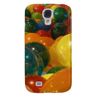 Coque Galaxy S4 Conception colorée de partie de ballons