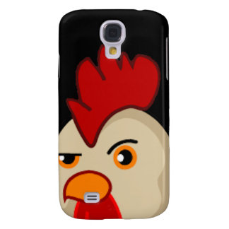Coque Galaxy S4 Coq avec l'attitude