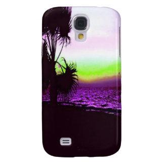Coque Galaxy S4 Coucher du soleil tropical