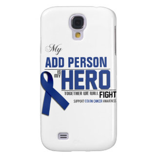 Coque Galaxy S4 Customisez MON HÉROS :  Cancer du colon