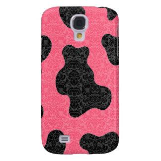 Coque Galaxy S4 Damassé mignonne avec du charme gaie adorable de