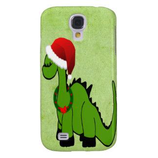 Coque Galaxy S4 Dinosaure de Noël