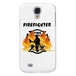 Coque Galaxy S4 Flammes de département du feu