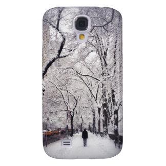 Coque Galaxy S4 Flânerie d'un trottoir de ville de Milou