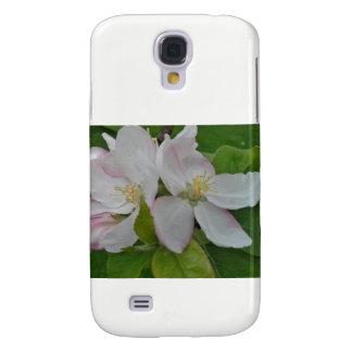 Coque Galaxy S4 Fleur floraison de pomme Cox Galaxie5 gaine