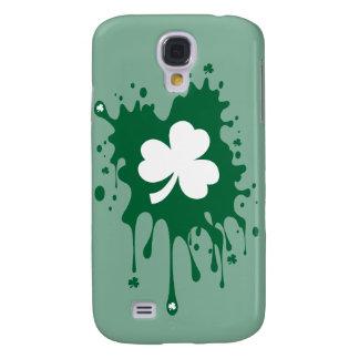 Coque Galaxy S4 Floc irlandais de shamrock !