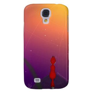 Coque Galaxy S4 Fox près d'iPhone de l'espace ou de cas de