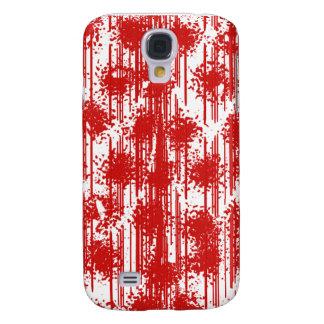 Coque Galaxy S4 Frais rouge sang