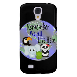 Coque Galaxy S4 Globe d'animaux