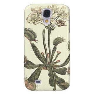 Coque Galaxy S4 Illustration botanique d'attrape-mouche de Vénus