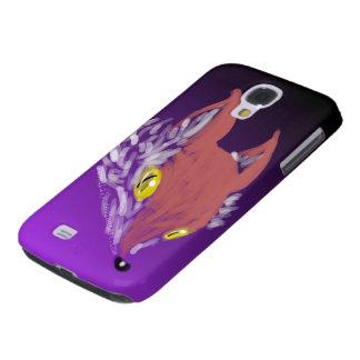 Coque Galaxy S4 iPhone de Fox ou caisse foncé de téléphone de